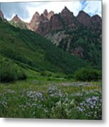 The Other Side Of Maroon Bells 1 Metal Print
