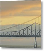 The Other Side Of The Bridge Metal Print