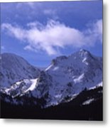 The Other Side Of The Mountains Metal Print