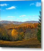 The Other Side Of The Road In Wv Metal Print