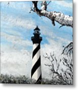 The Other View Of Hatteras Metal Print