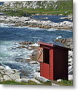 The Outhouse? Metal Print