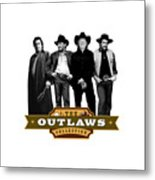 The Outlaws Collection Metal Print