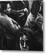 The Outsider's Restless Mind Metal Print