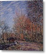 The Outskirts Of The Fontainebleau Forest Metal Print