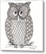 The Owl's Who Metal Print