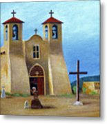 The Padre's Prayer Metal Print by Gordon Beck