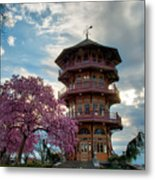 The Pagoda In Spring Metal Print