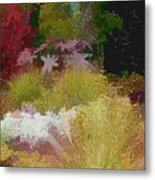 The Painted Garden Metal Print