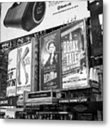 the Palace theatre Times Square New York City USA Metal Print
