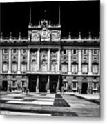 The Palacio Real, Madrid  Metal Print