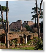 The Palatino At Dusk Metal Print