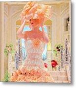 The Palazzo Casino Venetian Rose Dress Metal Print