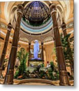 The Palazzo Inside Main Entrance Metal Print
