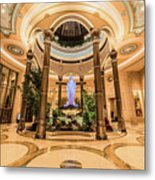 The Palazzo Inside Main Entrance Very Wide Metal Print