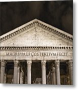 The Pantheon Metal Print