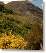 The Pap Of Glencoe Metal Print