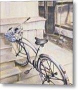 The Paper Route Metal Print