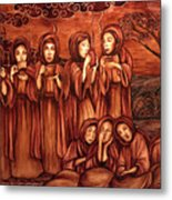The Parable Of The Ten Virgins Metal Print