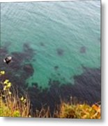 The Paradise Under The Water Metal Print