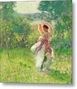 The Parasol Metal Print