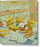 The Parisian Novels Or The Yellow Books Metal Print