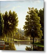 The Park At Mortefontaine Metal Print