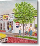 The Park Shoppe Portsmouth Ohio Metal Print