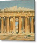 The Parthenon Metal Print