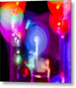 The Party Is Waiting Metal Print