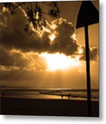 The Pass Byron Bay Metal Print