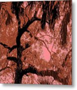 The Passion Of The Oak Metal Print