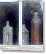 The Past In The Window Metal Print