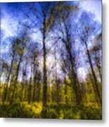 The Pastel Forest Metal Print