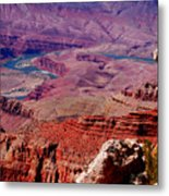 The Path Of The Colorado River Metal Print