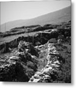 The Path To The Beehive Huts In Fahan Ireland Metal Print