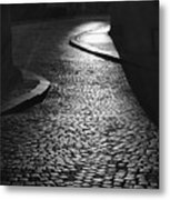 The Pathway Leading To The Light Metal Print