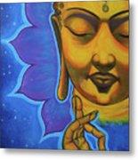 The Peaceful Buddha Metal Print