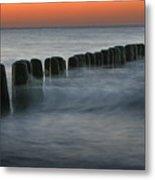 The Peaceful Sea Metal Print