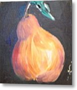 The Pear Metal Print