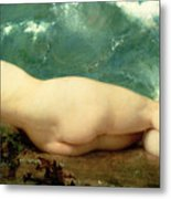The Pearl And The Wave Metal Print