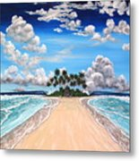 The Pearly Gates Metal Print