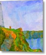 The Pepper Pot Metal Print