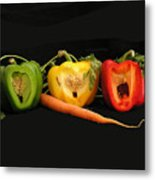 The Pepper Trio Metal Print