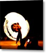 The Performer Metal Print