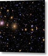 The Perseus Galaxy Cluster Metal Print