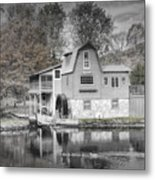 The Peterson Mill In Saugatuck Michigan Metal Print