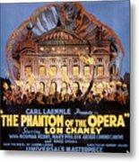 The Phantom Of The Opera Metal Print