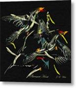 The Pheasant Hunt Metal Print