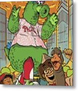 The Pherocious Phanatic Metal Print
